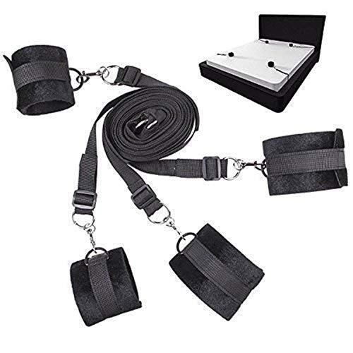 El juego de cama se puede ajustar de forma suave y cómoda, y la cuerda fija se usa para parejas y juegos de parejas.