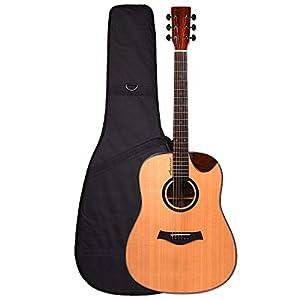 Kadence Premium Series Slowhand Demi Cut Semi Acoustic Guitar 4
