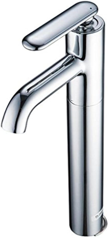 Armaturen im Badezimmer Einhand-Waschbecken Mischbatterie Kalt und Wasserhahn sinkt
