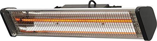 CasaTherm Infrarot Heizstrahler S1800 Gold Fernbedienung IP55, Silber, 1800 Watt - 3