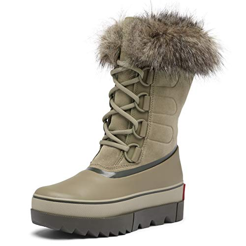 Sorel Women's Joan of Arctic Next Boot - Heavy Rain and Heavy Snow - Waterproof - Sage - Size 5
