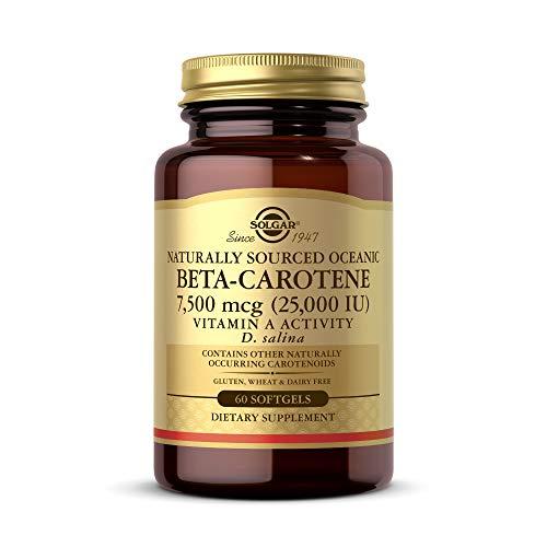 Solgar Bêta-Carotène 60 Softgels 7 mg
