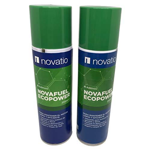 Novatio Aditivo Diésel y Gasolina - Cuidado del Motor Limpiador inyectores Reduce el Nivel de Humos Reduce el Consumo de Combustible Ideal Pasar ITV