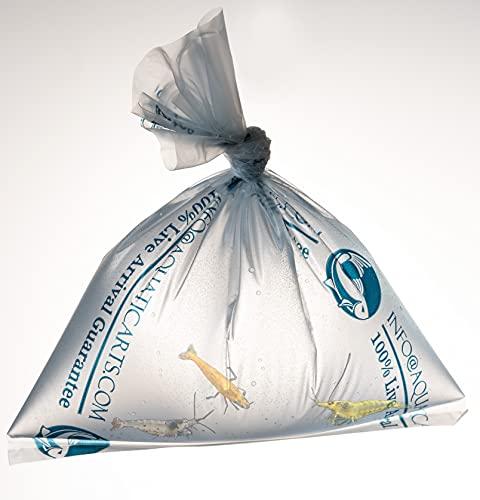 Aquatic Arts 10 Breather Bags for Shipment or Transportation of Fish, Shrimp, Aquatic Animals (Compare to Kordon Breathing Bag)