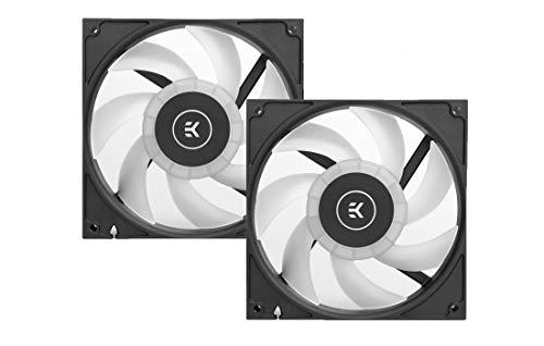 EK-Vardar EVO 140ER D-RGB (400-1600 RPM) 2 Pack