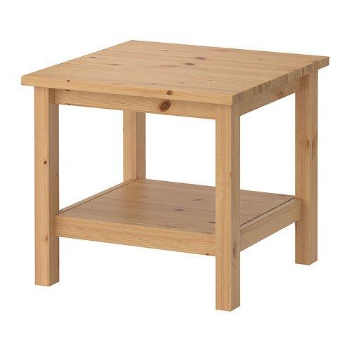 IKEA(イケア)HEMNES サイドテーブル, ライトブラウン 40302411