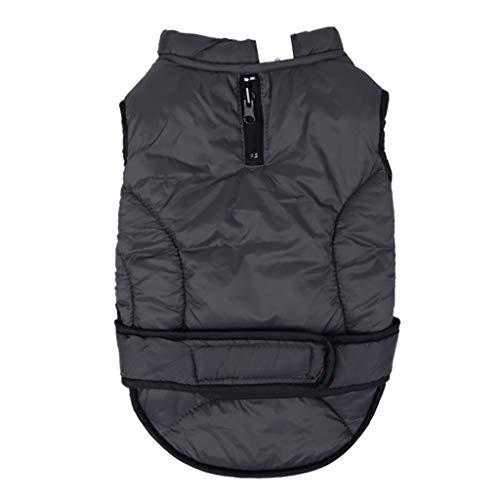 Neue Haustier doppelseitige tragbare Jacke Winter Winddicht wasserdicht warme Hundemantel YunYoud Normallack Haustier Winter warme Weste