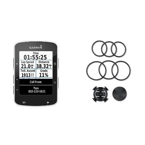 """Garmin Edge 520 - Ciclocomputador con GPS (pantalla de 2.3"""", Garmin Connect, sensor de potencia ANT+, hasta 15 horas autonomía), negro - Soporte de GPS para bicicleta"""