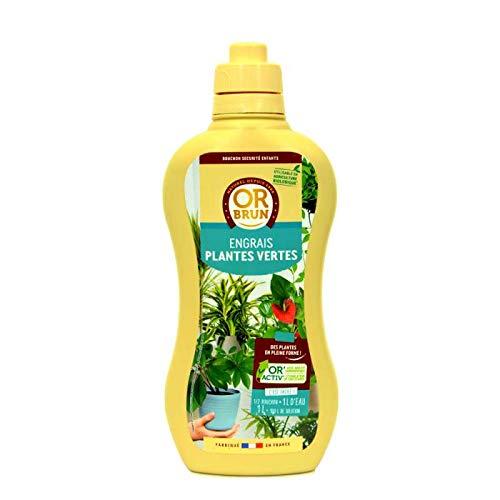 Engrais liquides Plantes Vertes Or Brun, fertilisant Organique 1 Litre