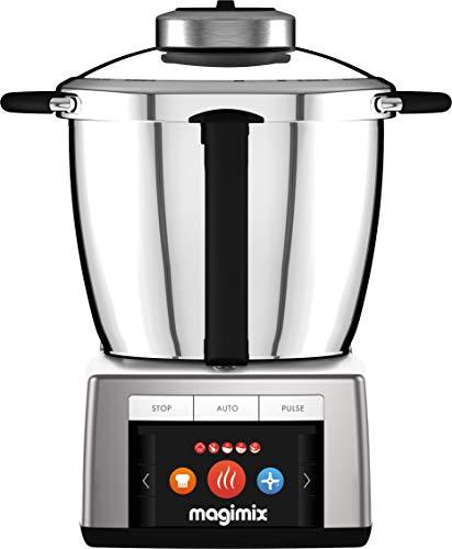 Magimix Cook Expert Premium XL 18909 Multifunctional Robot Cooker, Platinum, Made in France