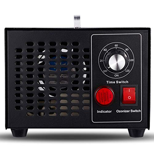 Nrpfell Generador de Ozono Purificador de Aire DoméStico Ozonizador Temporizador Filtro de Aire MáQuina de DesodorizacióN de Ozono Enchufe de la UE