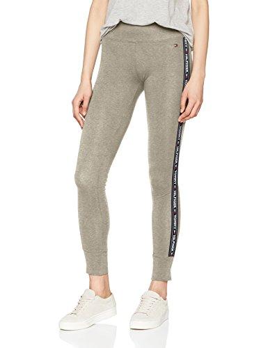 Tommy Hilfiger Damen Legging, Grau (Grey Heather 004), Medium (Herstellergröße: MD)