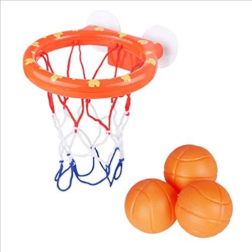 SNOWINSPRING 1 Juego de Juguetes de Baloncesto para Ni?Os, LechóN de Ba?O, Ba?O de Bebé, Baloncesto de Ba?O, Juguetes de Ba?O para Ni?Os, Juguetes de Ba?O