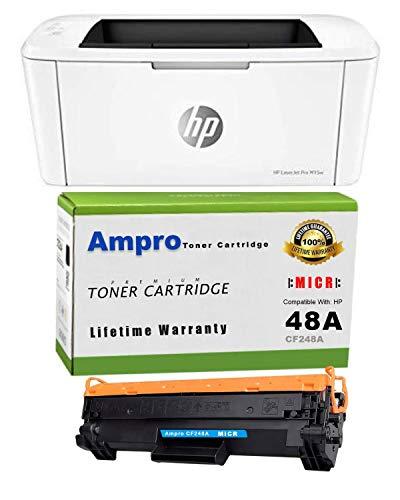 Ampro Laserjet M15w Check Printer MICR Check Printer Bundle with...