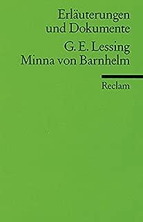 Minna von Barnhelm. Erläuterungen und Dokumente.
