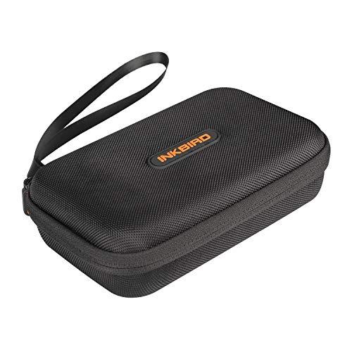 Inkbird Aufbewahrungsbox Kompatibel mit IBT-2X, Wasserdicht und Stoßfeste Reisetasche Bluetooth Drahtloses Grillthermometer -20 x 13 x 6cm
