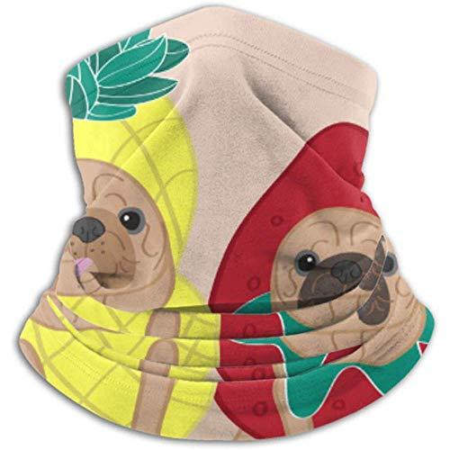 Linger In Calentador de Cuello Perros Disfraz Divertido Bufanda, Polaina de Cuello, Gorra de Cuello Media máscara Pasamontañas Sombreros