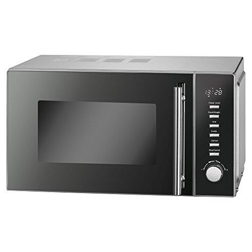 Proficook-MWG 1117Forno a microonde 20L/1000Watt Grill/controllo elettronico/LED Display/Alloggiamento in acciaio inox