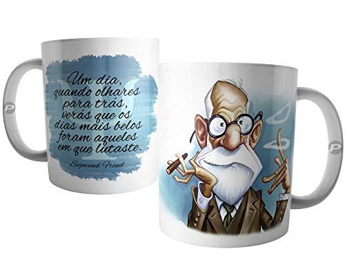Caneca Psicologia - Frase de Sigmund Freud