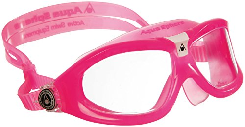 Aqua Sphere Seal Kids Swimming Goggles - Pink/Clear (Old 2008 Version)