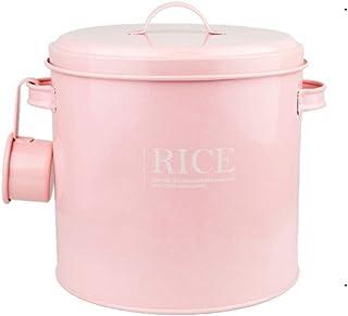 CFFCC Boîte de Rangement de Type Rond pour récipient de Nourriture de Farine de Riz de Cuisine avec Joint 5KG boîte de Ran...