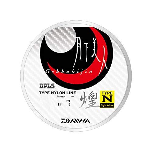 ダイワ(DAIWA) ナイロンライン 月下美人TYPE-N2 2.5lb. 150m 煌 サイトイエロー