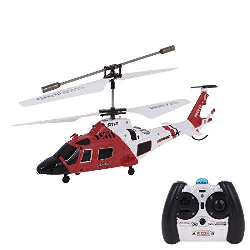 Helicóptero Syma S111G 3CH RC Mini MH-68A Hitron U.S guardacostas de w Gyro