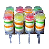 ZLKSKER 10-Pack Cake Push Up Pop Containers...