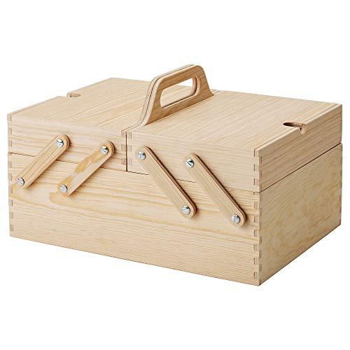 KLÄMMEMACKA skrivbordsorganiserare 35 x 26 x 22 cm naturlig plywood