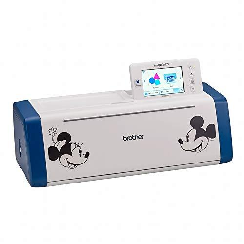 Brother ScanNCut SDX2200 Hobbyplotter Disney con 132 esclusivi motivi Disney per tagliare, scansione, goffratura, creazione di oggetti personali