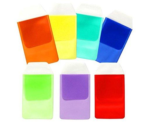 6 protectores de bolsillo de colores variados para escuela hospital oficina suministros para bolígrafos fugas para camisas abrigos de laboratorio pantalones