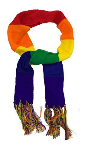 1Pc 50x50cm Arc-en-Bandanas Bandeau Gay Pride Masque Foulard coiffure