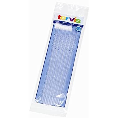 Tervis Tumbler, 6 Clear, Flexible Straws