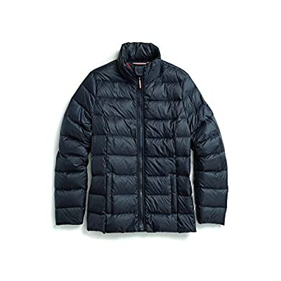Tommy Hilfiger Women's Adaptive Quilted Jacket with Magnetic Zipper, masters navy Large from Tommy Hilfiger