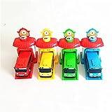 Simulation jouet pour enfant, Garage Mignon Garage Petit Jouets De Bus Modèle Mini Plastique Bébé Voiture Enfants Enfants Pour les cadeaux de jouets pour enfants