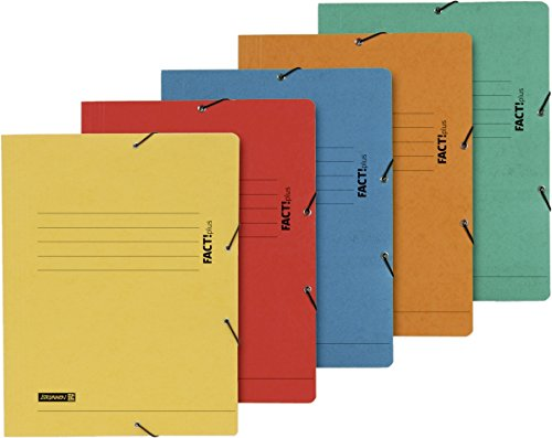Brunnen Fact–102015495–Carpeta A4.Plus (cartón prensado, 5colores surtidos