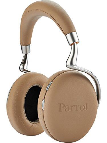 Parrot Zik 2.0 - Auriculares de diadema cerrados Bluetooth diseñados por Philippe Starck, moca
