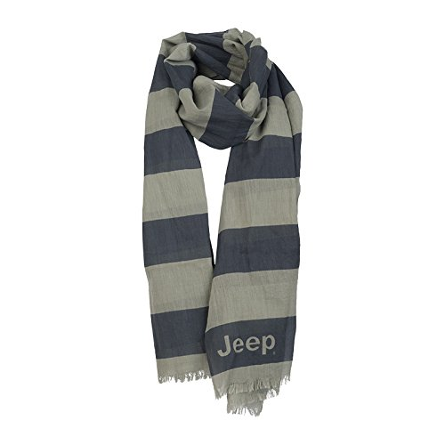 Jeep Écharpe «Stripes» J5S Homme, Grey Dawn/Dark GRE, UNI Size