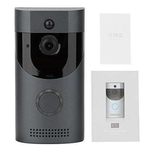 HERCHR Timbre Inteligente Video HD Timbre inalámbrico Seguridad...