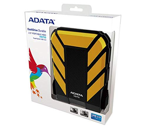 ADATA AHD710-1TU3-CYL Dashdrive Durable HD710 HardDisk