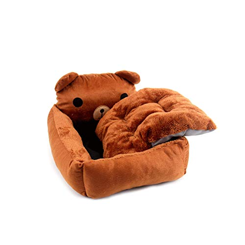 QXIAO Camas para Perros Cesta Grande Y Lavable para Mascotas Cama Perrera Ortopédica para Perros Grandes Cama De Lujo Antideslizante para Nido Calmante,M