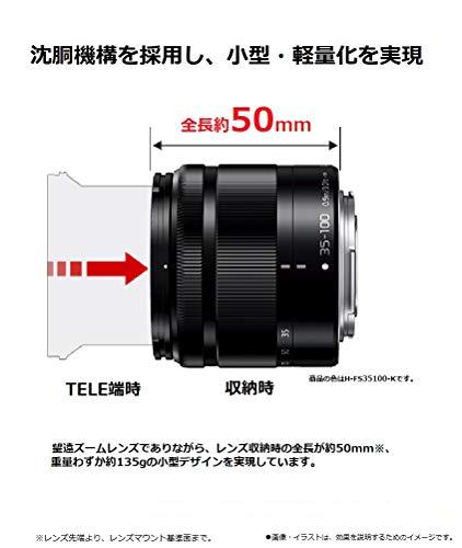 Panasonic 35-100mm f/4-5.6 Interchangeable Zoom Lens (Silver)