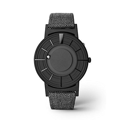 Reloj de Cuarzo Eone Bradley Edge Black, 40 mm, Negro, Piel, BR-Edge-BLK