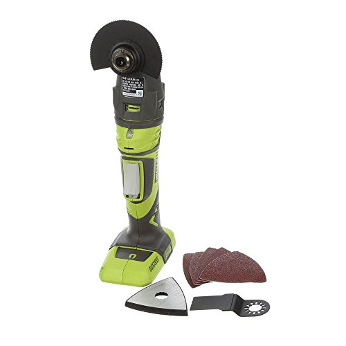 Discover Bargain Ryobi JobPLUS ONE+ 18V Multi Tool P246 Console & P570 Head Attachment and Accessori...