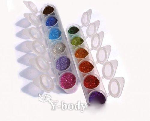 Glitzer Set 12 Farben