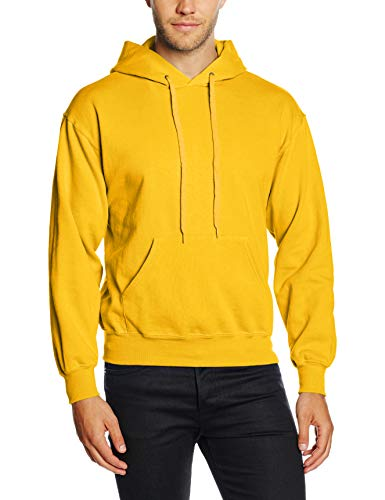 Fruit of the Loom SS026M, Sudadera con capucha Para Hombre, Amarillo (Sunflower Yellow), Medium