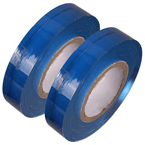 iplusmile 2 Rollen Wraps Doorzichtige Filmfilm Tape Stretchfolie Tape Slijtvaste Film Voor Doos Sieraden Cadeau Ketting Verpakking