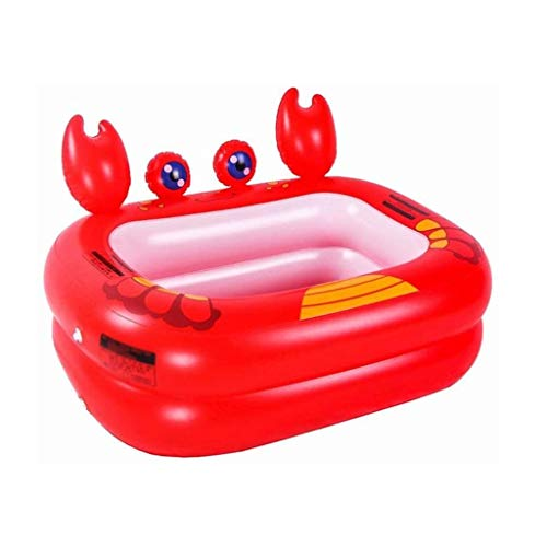 NXYJD Bañera Inflable, Infantil Piscina, hogar del bebé de la bañera Inflable de la bañera Inflable Juguete de la Piscina