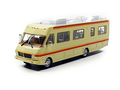 Greenlight Collectibles Miniatur-Fleetwood Bounder RV-Breaking Bad-1986 - Chelle 1/43, 86500, Beige/Rot