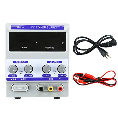 0-2A 0-15V DC Power Supply 1502D+ LED Display for Mobile Phone Repair Power Test